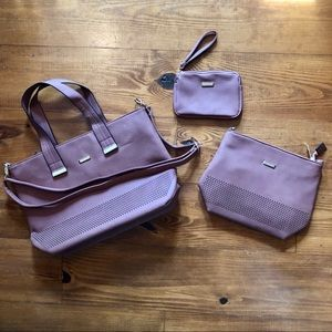 Handbags - 3-in-1 Leather Purse/Bag - NWT